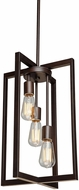 Artcraft AC10413 Gastown Contemporary Oil Rubbed Bronze 12  Foyer Lighting