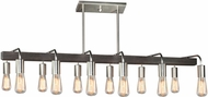 Artcraft AC10452BN Jasper Park Modern Brushed Nickel Kitchen Island Lighting