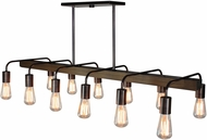 Artcraft AC10452BU Jasper Park Contemporary Bronze Kitchen Island Light