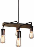 Artcraft AC10454BU Jasper Park Contemporary Bronze Kitchen Island Light Fixture