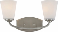 Artcraft AC10462BN Hudson Brushed Nickel 2-Light Bathroom Lighting