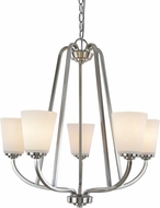 Artcraft AC10465BN Hudson Brushed Nickel Mini Chandelier Light