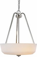 Artcraft AC10466BN Hudson Brushed Nickel Pendant Light