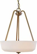Artcraft AC10466VB Hudson Vintage Brass Lighting Pendant