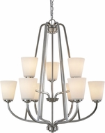 Artcraft AC10469BN Hudson Brushed Nickel Lighting Chandelier