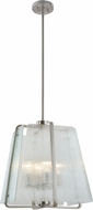 Artcraft AC10474BN La Traviata Modern Brushed Nickel Hanging Lamp