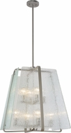 Artcraft AC10478BN La Traviata Modern Brushed Nickel Hanging Light