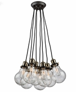 Artcraft AC10488 Edison Multi Hanging Pendant Light