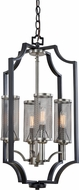 Artcraft AC10493 Oxford Matte Black Foyer Lighting