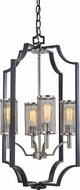 Artcraft AC10494 Oxford Matte Black Foyer Light Fixture