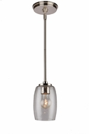 Artcraft AC10531BN San Antonio Modern Brushed Nickel Mini Drop Lighting Fixture