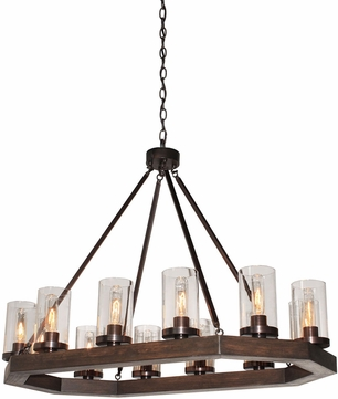 Artcraft AC10542BU Jasper Park Modern Bronze Kitchen Island Light