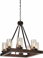 Artcraft AC10558BU Jasper Park Contemporary Bronze Mini Chandelier Lighting