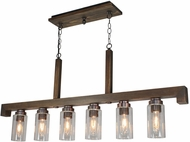 Artcraft AC10566BU Jasper Park Modern Bronze Kitchen Island Lighting