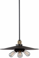 Artcraft AC10591VB Jersey Contemporary Vintage Brass Lighting Pendant