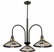 Artcraft AC10623 Wellington Vintage Brass Chandelier Lighting