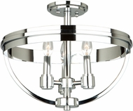 Artcraft AC10693CH Roxbury Modern Chrome Ceiling Lighting