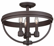 Artcraft AC10693OB Roxbury Contemporary Oil Rubbed Bronze Ceiling Light
