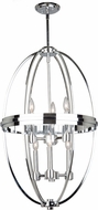 Artcraft AC10696CH Roxbury Modern Chrome Foyer Lighting