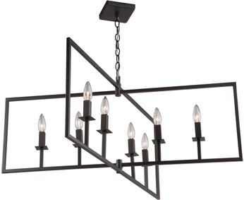 Artcraft AC10723OB Allston Modern Oil Rubbed Bronze Lighting Chandelier