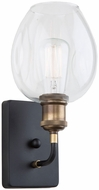 Artcraft AC10738VB Clearwater Contemporary Vintage Brass Sconce Lighting