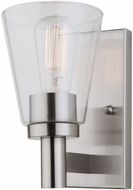Artcraft AC10767BN Clarence Brushed Nickel Sconce Lighting