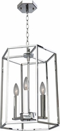 Artcraft AC10770CH Modern Elegance Contemporary Chrome 12  Foyer Lighting Fixture
