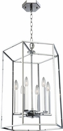 Artcraft AC10772CH Modern Elegance Contemporary Chrome 22  Foyer Lighting