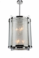 Artcraft AC10801CH Crackled Ice Chrome 16  Foyer Lighting Fixture