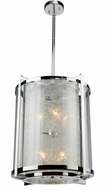 Artcraft AC10802CH Crackled Ice Chrome 18  Entryway Light Fixture