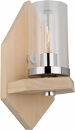 Artcraft AC10841LC Canyon Creek Modern Authentic Pine Wall Sconce Light