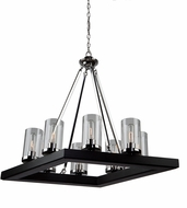 Artcraft AC10848DC Canyon Creek Contemporary Authentic Pine Mini Lighting Chandelier