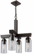 Artcraft AC10864BU Home Glow Brunito Mini Chandelier Light