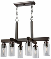 Artcraft AC10866BU Home Glow Brunito Island Lighting
