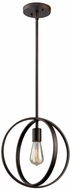 Artcraft AC10881OB Newport Modern Oil Rubbed Bronze Pendant Lighting Fixture