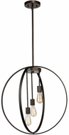 Artcraft AC10883OB Newport Contemporary Oil Rubbed Bronze Hanging Pendant Light