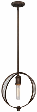 Artcraft AC10901OB Linden Modern Bronze Drop Lighting