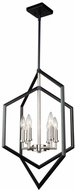 Artcraft AC10996NB Preston Modern Semi Matte Black and Brushed Nickel Foyer Lighting