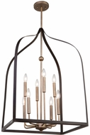 Artcraft AC11018 Worthington Modern Oil Rubbed Bronze & Antique Gold Foyer Lighting Fixture