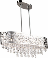 Artcraft AC11074CH Celestial Chrome Halogen Island Lighting