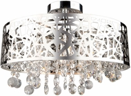 Artcraft AC11076CH Celestial Chrome Halogen Ceiling Light Fixture