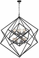 Artcraft AC11112PN Artistry Modern Polished Nickel Chandelier Light