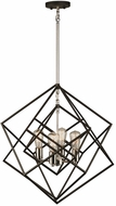 Artcraft AC11114PN Artistry Modern Polished Nickel Mini Chandelier Lighting