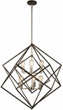 Artcraft AC11116PN Artistry Contemporary Polished Nickel Lighting Chandelier
