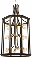 Artcraft AC11220SB Sandalwood Contemporary Satin Brass Foyer Light Fixture