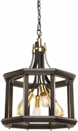 Artcraft AC11226SB Sandalwood Contemporary Satin Brass Lighting Pendant