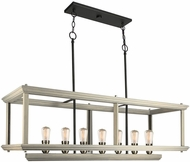 Artcraft AC11227BW Sandalwood Modern Beach Wood Island Lighting