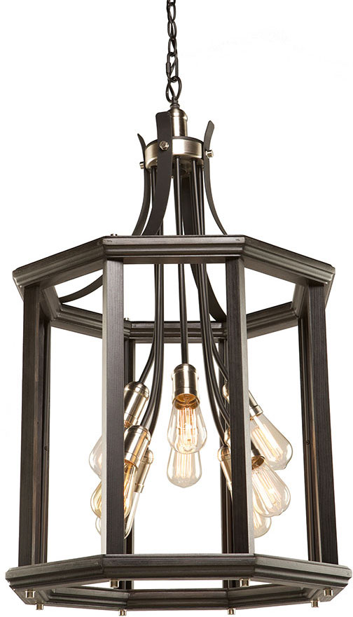 Artcraft Ac11229bn Sandalwood Modern Brushed Nickel Foyer Lighting Fixture Loading Zoom