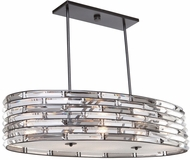 Artcraft AC11266 Vero Modern Black Kitchen Island Lighting