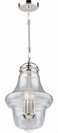 Artcraft AC11283PN Alexandria Contemporary Polished Nickel Foyer Lighting Fixture